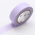10m Washi Tape 15mm Pastel Purple