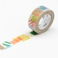 7m Washi Tape 15mm Kids Peta Peta