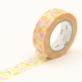 10m Washi Tape 15mm Pool Orange