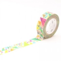 10m Washi Tape 15mm Sankaku Pink