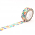 10m Washi Tape 15mm Shimasankaku Blue