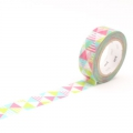 10m Washi Tape 15mm Shimasankaku Pink