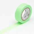 10m Washi Tape 15mm Shocking Green