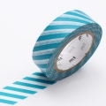 10m Washi Tape 15mm Stripe Hisui