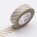 10m Washi Tape 15mm Stripe Suna