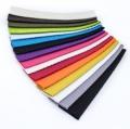 Musterstücke Gurtband Baumwolle 24 Farben