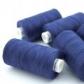 Nähgarn dunkelblau Stärke 30 Polyester