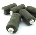 Nähgarn dunkeloliv Stärke 30 Polyester
