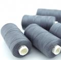Nähgarn dunkelgrau Stärke 30 Polyester