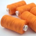 Nähgarn orange Stärke 30 Polyester