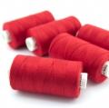 Nähgarn rot Stärke 30 Polyester