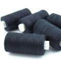Nähgarn schwarz Stärke 30 Polyester