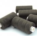 Nähgarn schwarzbraun Stärke 30 Polyester