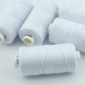 Nähgarn weiß Stärke 30 Polyester