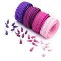 12m Opti Reißverschluss Set Pinktöne 3mm