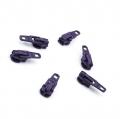 Opti Reißverschluss-Schieber 3mm aubergine Col. 4935