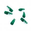 Opti Reißverschluss-Schieber 3mm grün