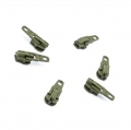 Opti Reißverschluss-Schieber 3mm khaki