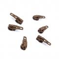 Opti Reißverschluss-Schieber 3mm braun Col. 8529