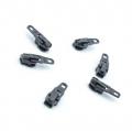 Opti Reißverschluss-Schieber 3mm grau Col. 9654