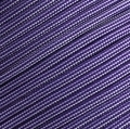 15m Paracord 550 Typ III acid purple & silver grey stripe