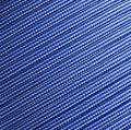 15m Paracord 550 Typ III electric blue & silver grey stripe