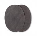 Prym Patches Velourslederimitat, aufbügelbar, 10 x 14cm, mittelgrau 929371