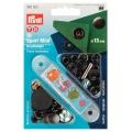 Prym Druckknöpfe Sport Mini 13mm brüniert 390502