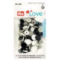 Prym Love Color Snaps 30 Stk. marine, grau, weiß 393008