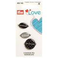 Prym handmade Pins grau 3 Stück 403743