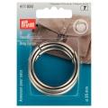 Prym Taschenringe 35mm silber 417890