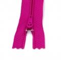 10 Reißverschlüsse fuchsia pink 20cm