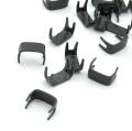20 Endstücke für 5mm Reißverschlüsse schwarz