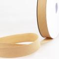 Schrägband beige aus Baumwolle PES 20mm