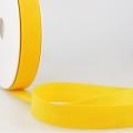 Schrägband gelb aus Baumwolle PES 20mm