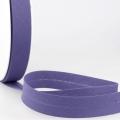 Schrägband lila aus Baumwolle PES 20mm