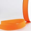 Schrägband orange aus Baumwolle PES 20mm