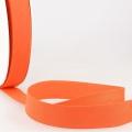 Schrägband rotorange aus Baumwolle PES 20mm