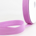Schrägband violett aus Baumwolle PES 20mm