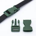 Steckschnalle 20mm dunkelgrün