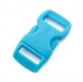 5 Steckverschlüsse 10mm hellblau