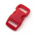 5 Steckverschlüsse 10mm rot