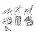 Stempel-Set Waldtiere