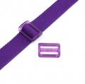 Gurtband-Regulierer 25mm lila transparent