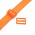 Gurtband-Regulierer 40mm orange transparent