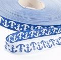 Anker Webband, blau 15mm