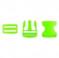 Taschenverschluss mit Regulierer 40mm hellgrün