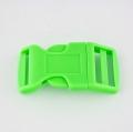 Steckschnalle 25 mm gebogen hellgrün
