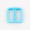 Stegschnalle 25mm hellblau