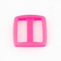 Stegschnalle 25mm pink